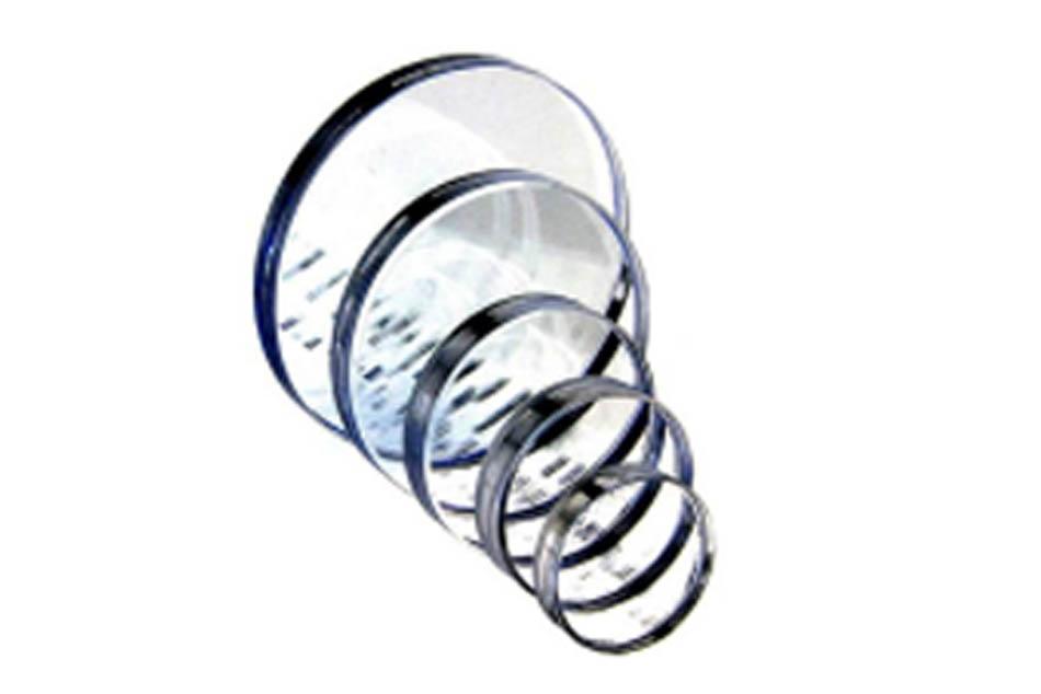 Stavoznaková skla a slídové destičky