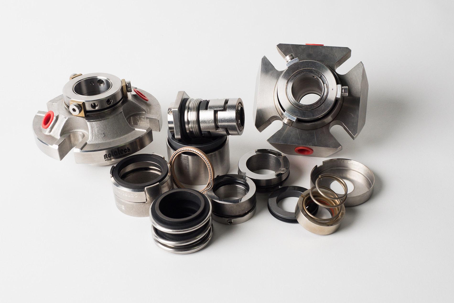Mechanické ucpávky a rotační přívody